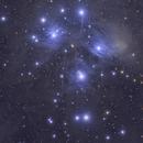M45 Open star cluster (Pleiades),                                Emmanuel