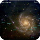 M101 - Face-on Spiral Galaxy.,                                astroeyes