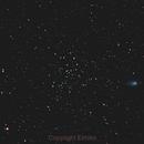 C/2017 T2 Panstarrs visits NGC 1528,                                Elmiko