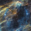 Cygnus Shell supernova remnant W63,                                Erik Pirtala