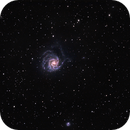 M101 Spiral Galaxy - Wide Field View,                                Steve