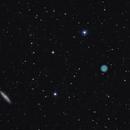 M97(Owl Nebula) with M108,                                Jeff Dorman