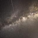 Milky Way with Shooting Star,                                David Schlaudt