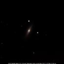 M102, Spindle Galaxy - Very Slender,                                Chris Moran