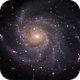 M101, The Pinwheel Galaxy,                                Ruben Barbosa