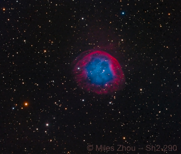 Planetary Nebula Sh2-290,                                Miles Zhou