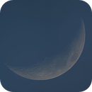 Daytime Waxing Crescent June 25 2020,                                Donnie B.