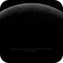 Lunar mosaic, August 28, 2014,                                Ofer Gabzo