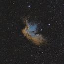 NGC 7380 (Wizard Nebula),                                Brett Alcox