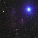 Ghost nebula IC 63,                                Bach hamba Youssef