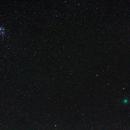 Comet 46p/Wirtanen + Pleiades,                                AC1000