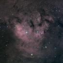 NGC7822 Ha RGB,                                Станция Албирео