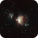 M42 - The Orion Nebula (w/ Running Man),                                Jared Holloway