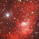 NGC 7635 - Nébuleuse de la bulle,                                Caillault Guillaume