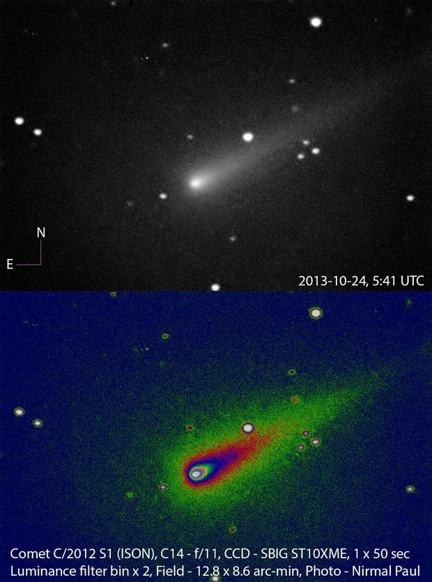 Comet C/2012 S1 (ISON),                                nirmalpaul