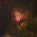 Omega Nebula Narrowband,                                Don Walters