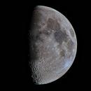 Moon 61,1% Illuminated,                                Siegfried