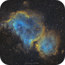 """IC 1848 """" the soul nebula"""",                                Camille COLOMB"""