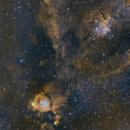 IC 1805 Heart Nebula, Fish Head Nebula & Melotte 15,                                Krishna Vinod