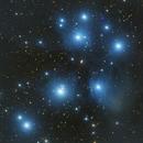 M45 The Pleiades,                                Seymore Stars