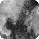 NGC7000 and Pelican Nebula h-alpha,                                HaSeSky