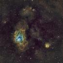 M8, M20 and surroundings in Sgr (SHO),                                sergio.diaz