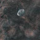 C27 Crescent Nebula-Ha-HOO-image acquisition by Bill Long,                                Adel Kildeev