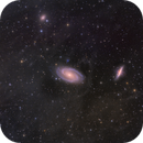 IFN towards Bode's Galaxy and the Cigar in HaLRGB,                                Jim Lindelien