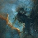 NGC 7000 - North America Nebula [SHO],                                jdifool
