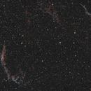Dentelles du Cygnes - NGC 6992 – NGC 6990 – NGC 6995 – NGC 6974 – NGC 6979,                                Slystone