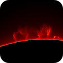 Sun in H-Alpha. Solar prominence 04.07.2020,                                Sergei Sankov