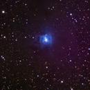 Iris Nebula in LRGB, NGC 7023 - 17hr stack,                                Vikas Sahota