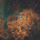 IC 405 - La nébuleuse de l'étoile flamboyante - SHO,                                Ludovic