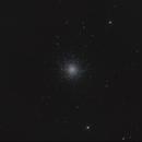 M13 / NGC 6205 - Great Globular Cluster in Hercules - 5 Second Exposures,                                Falk Schiel