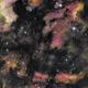 The Pelican Nebula flying off the Wall,                                orangemaze
