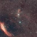 constellation du taureau(M45-california nebula),                                laup1234