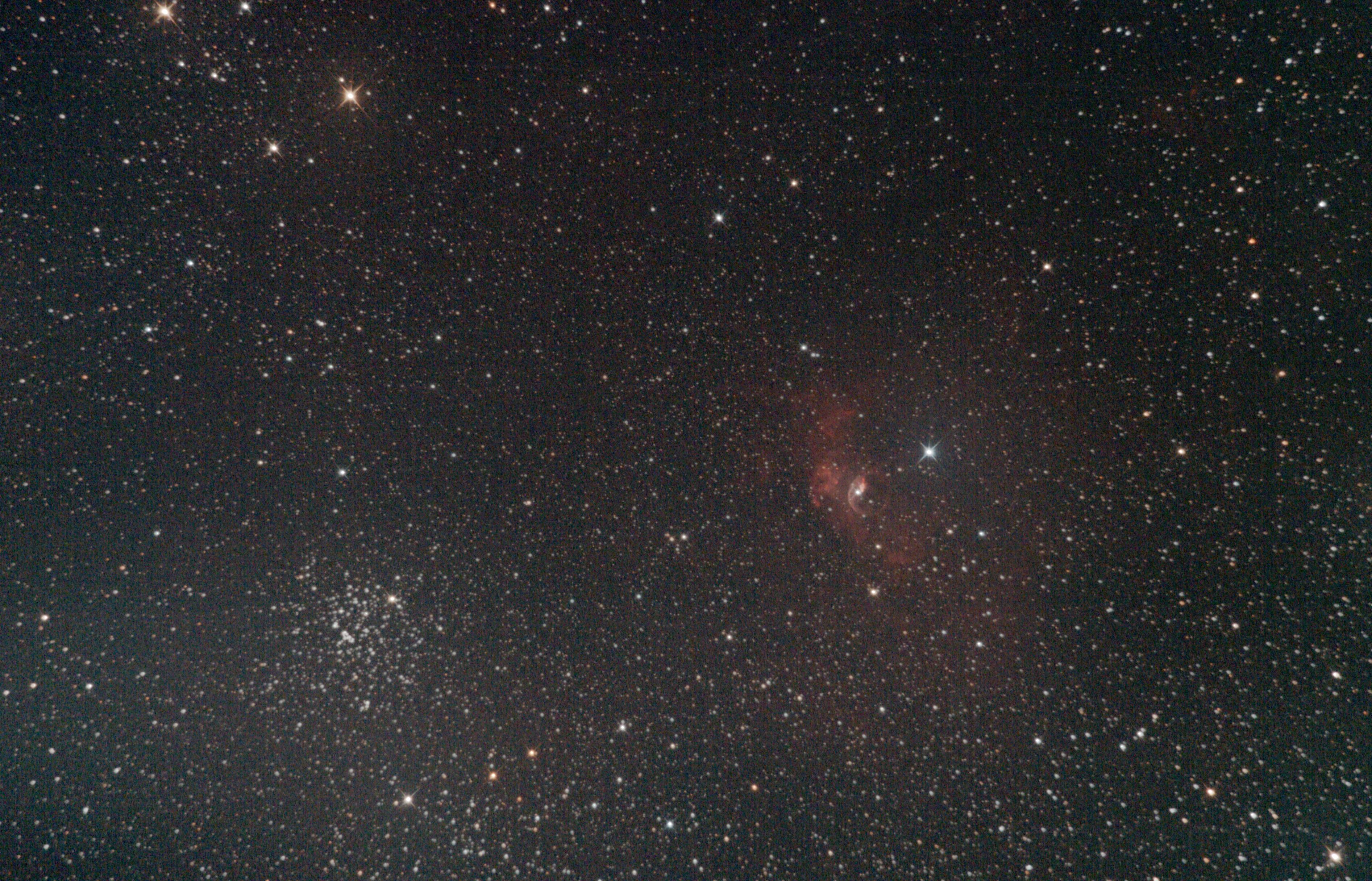 NGC 7635 / Guiding Tests,                                Tobias Artinger