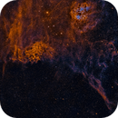 IC405 and IC410 The Flaming Star and Tadpoles,                                Sean McCully