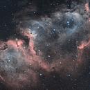 IC1848 Soul Nebula HOO,                                Matthieu Martin
