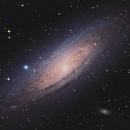Andromeda Galaxy,                                smr