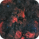 Cave Nebula (SH2-155) Widefield,                                Jeff Hall