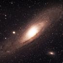 The Andromeda Galaxy, M31, M32 and M110,                                jdhartgerink