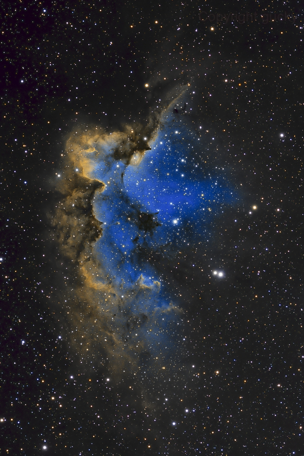The Wizard Nebula,                                Peter