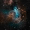Swan Nebula,                                Mike