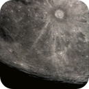Moon :  Crater Tycho at Full Moon,                                Wanni