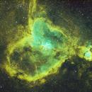 Heart Nebula  IC1805 (HST),                                Hideki