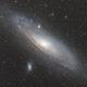 Andromeda Galaxy M31,                                Chad Adrian