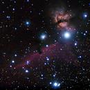 Alnitak, Horse Nebula, Flame Nebula,                                Paolo Manicardi