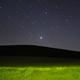 Jupiter over the meadow,                                Máximo Bustamante