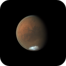 Mars with Valles Marineris on July 19, 2020,                                Chappel Astro